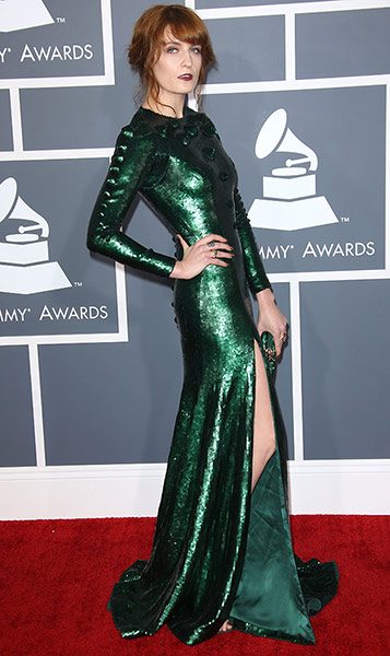55th Annual Grammy Awards, Arrivals, Los Angeles, America - 10 Feb 2013