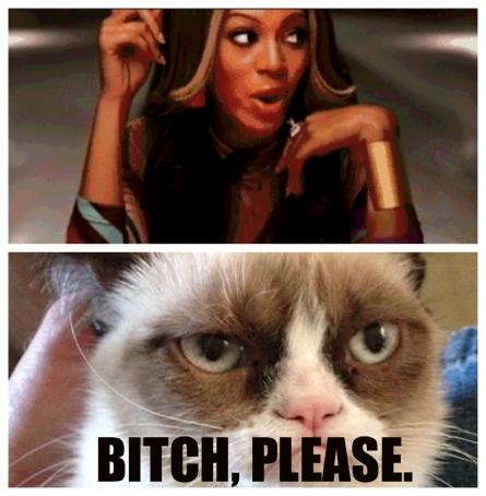 Beyonce, honey...