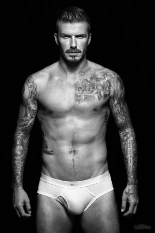 2: David Beckham - OBVIOUSLY.