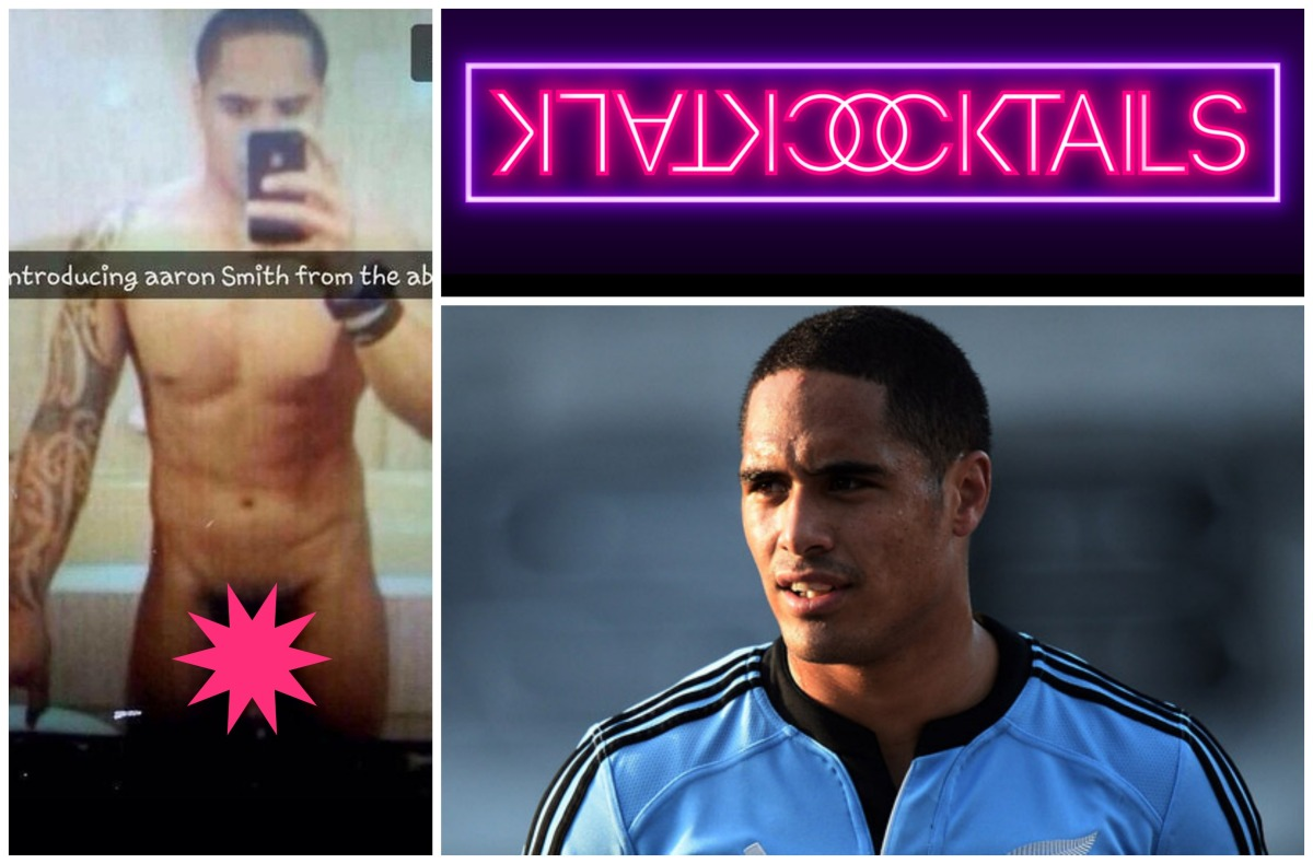 MAN CANDY: New Zealand's Rugby Player Aaron Smith's Saucy Selfie [NSFW]