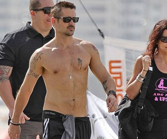 Colin Farrell Naked Body
