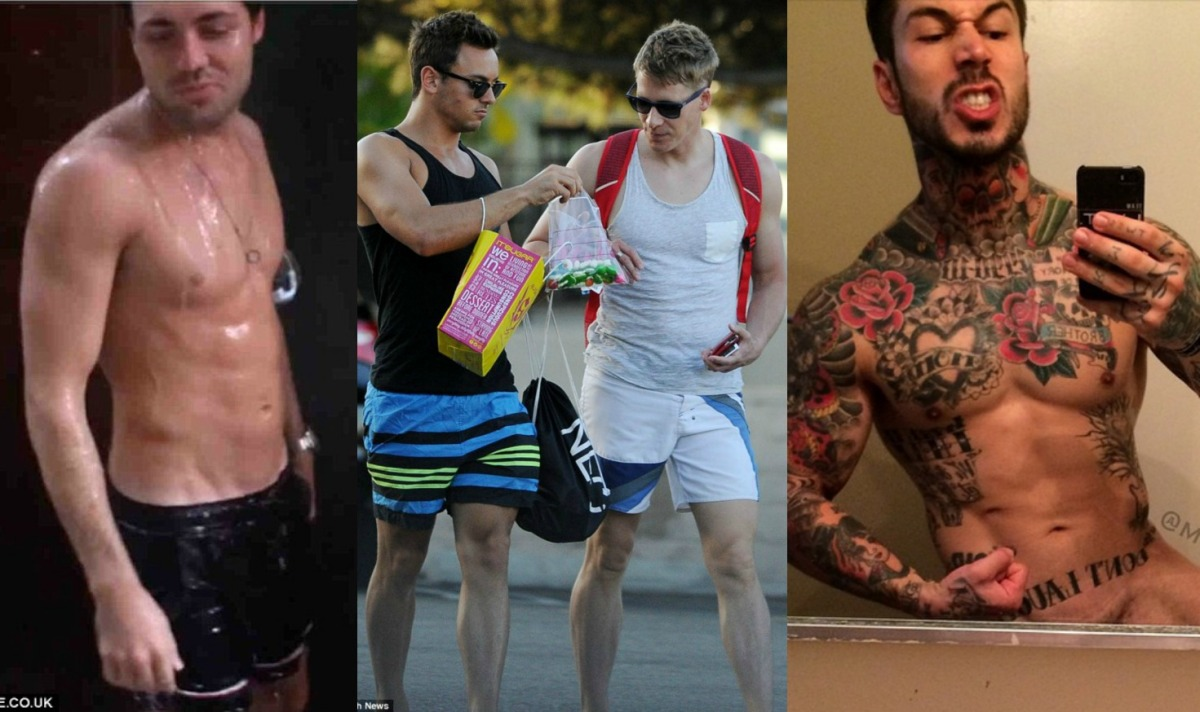 Tom Pearce Gets Wet, Alex Minsky Is Naked and Tom & Dustin Are Totally Sweet