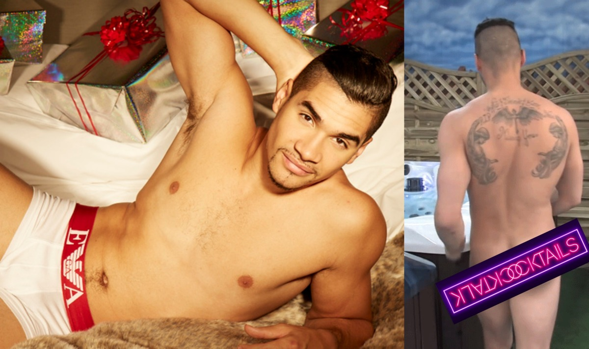 MAN CANDY: Louis Smith Gets Naked