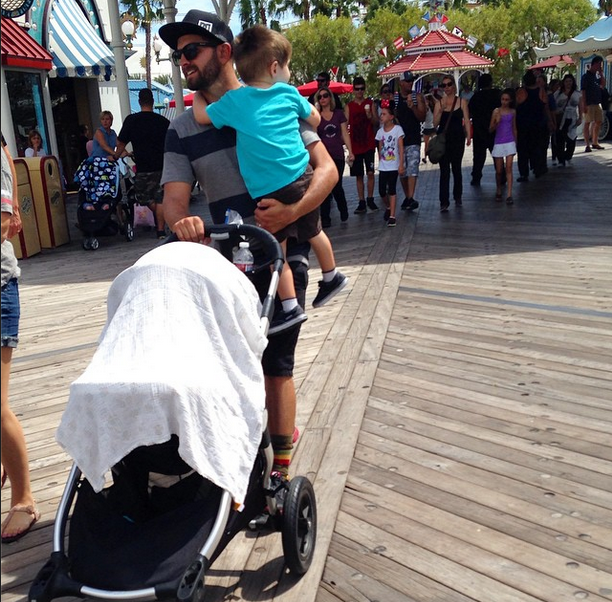 Saturday Man Candy The Hottest Dads On The Planet: DILFs Of Disney: The Cutest Instagram Ever